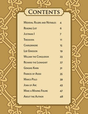 Table of Contents Famous Figures of Medieval Times